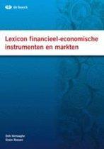 Omslag Lexicon financieel-economische instrumenten en markten