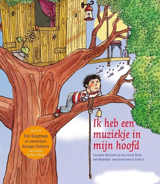 CD cover van Ton Koopman - Ik Heb Een Muziekje In Mijn Hoofd van L. Mathot