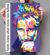 Poster Pop Art Rod Stewart - 50x70cm