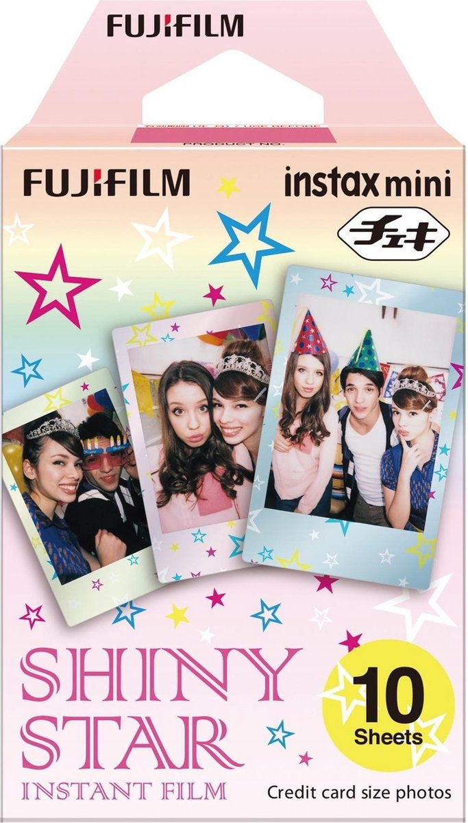 Fujifilm Instax Mini Colorfilm - Star - 10 stuks