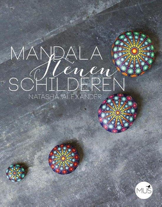 Boek cover Mandalastenen schilderen van Natasha Alexander (Paperback)
