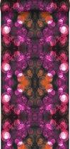 Origin behang kaleidoskoop-motief roze en oranje - 337202