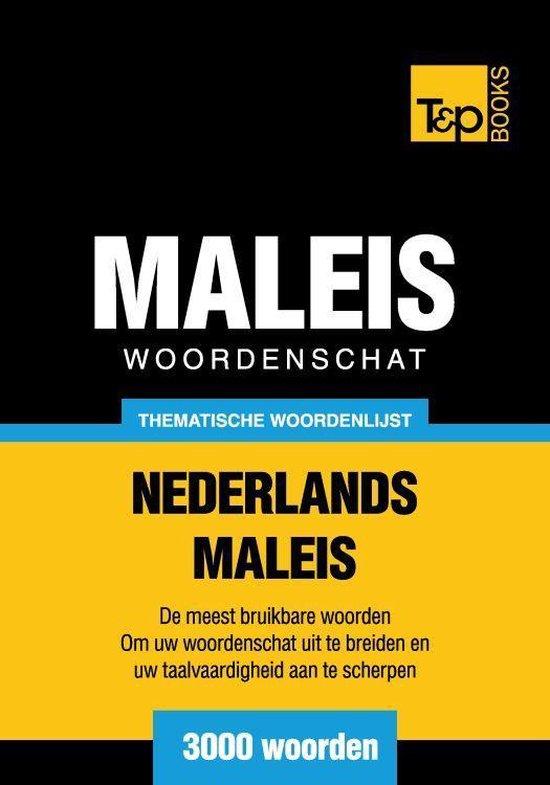 Thematische woordenschat Nederlands-Maleis - 3000 woorden - Andrey Taranov |