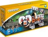 Twickto bouwset - speelvoertuig - Karakters  - 109 delig - oranje en wit