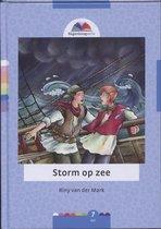 Regenboog Storm Op Zee