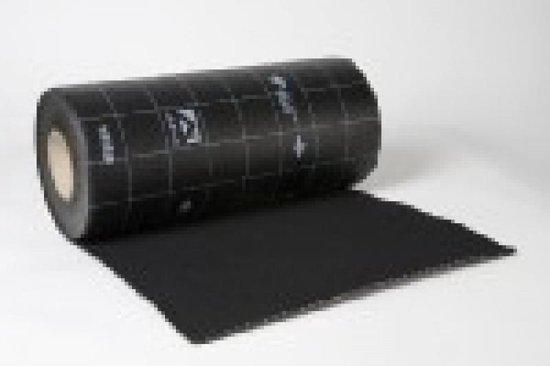Ubiflex waterdichte laag 500 mm - rol 12 meter -zwart