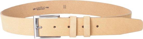 Bruine Timberlands Leren Riem Van 4 cm Breed – Dames Riem Of Heren Riem – Maat 120 (Taille tot 105 cm)