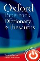 Afbeelding van Oxford Paperback Dictionary & Thesaurus