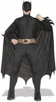 Batman kostuum   Superhelden pak maat M (tot 1.70m lengte)