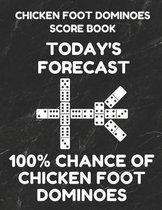 Chicken Foot Dominoes Score Book