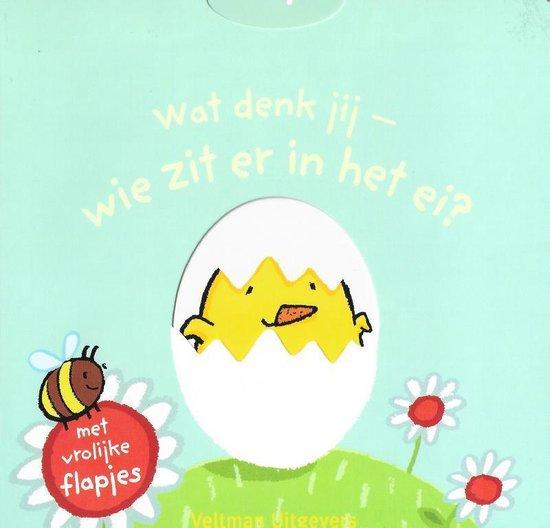 Boek cover Wat denk jij - wie zit er in het ei? van Thorsten Saleina (Onbekend)
