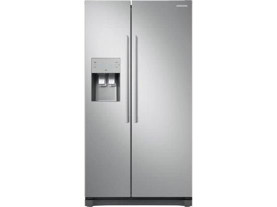 Koelkast: Samsung RS50N3503SA - Amerikaanse koelkast - Zilver, van het merk Samsung