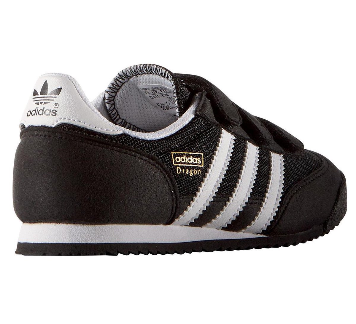 adidas dragon zwart