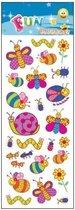 Stickervel vlinders en rupsen