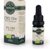 Biologische CBD Olie 6% - 600mg CBD