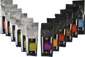 Proefpakket koffiebonen Tutto Caffè Duo - 12 x 250 gram