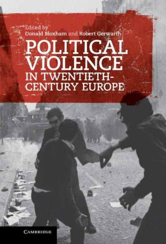 Boek cover Political Violence in Twentieth-Century Europe van  (Hardcover)