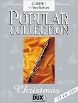 Popular Collection Christmas. Clarinet + Piano / Keyboard