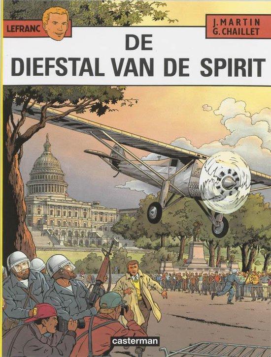 Lefranc 013 De diefstal van de Spirit - Jacques Martin |