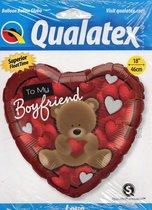 To my Boyfriend - Folieballon 45 cm
