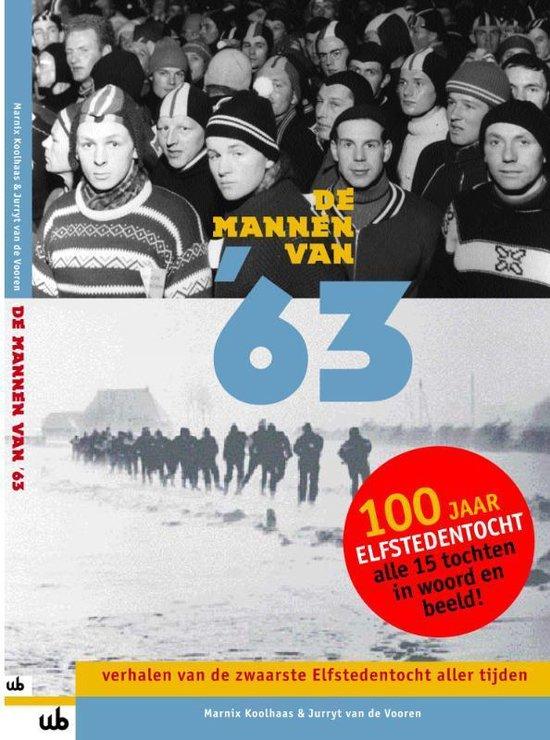 Cover van het boek 'De mannen van '63' van Marnix Koolhaas en Jurryt van de Vooren