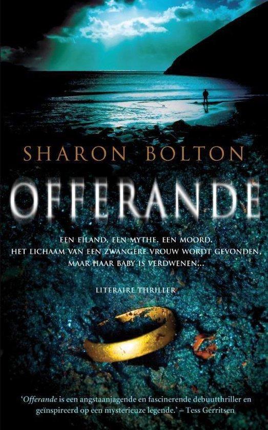 Boek cover Offerande van Sharon Bolton