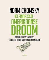 Boek cover Het einde van de Amerikaanse droom (Midprice) van Noam Chomsky (Paperback)