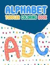 Alphabet Toddler Coloring Book