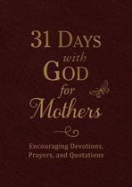 31 Days with God for Mothers (Burgundy)