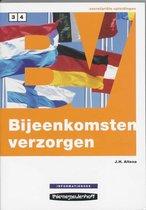 Boek cover Informatieboek Niveau 3 en 4 Bijeenkomsten verzorgen van J.H. Altena