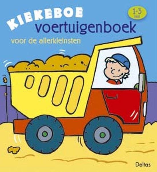 Kiekeboe voertuigenboek voor de allerkleinsten - Onbekend |