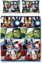Marvel Avengers Shield - Dekbedovertrek - Tweepersoons - 200 x 200 cm - Multi