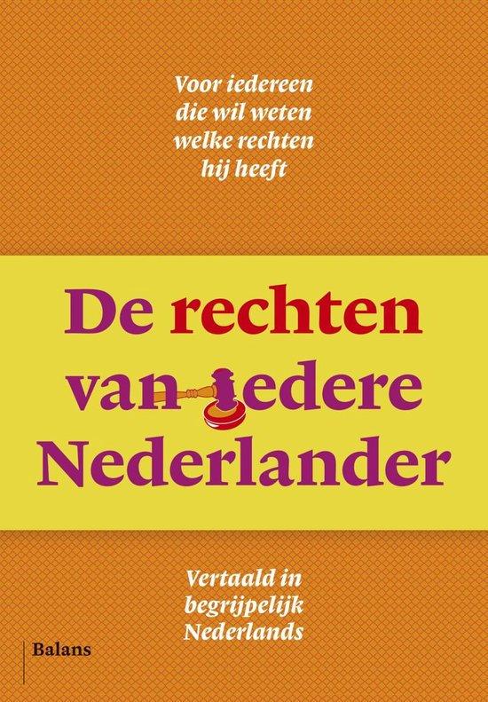 De rechten van iedere Nederlander - Douwe Brongers |