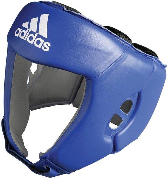 Adidas AIBA hoofdbeschermer blauw-XL