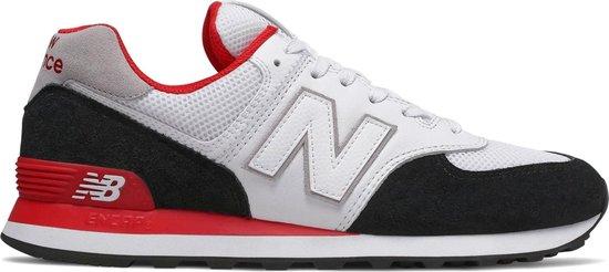 bol.com | New Balance 574 Sneakers - Maat 43 - Unisex - wit ...