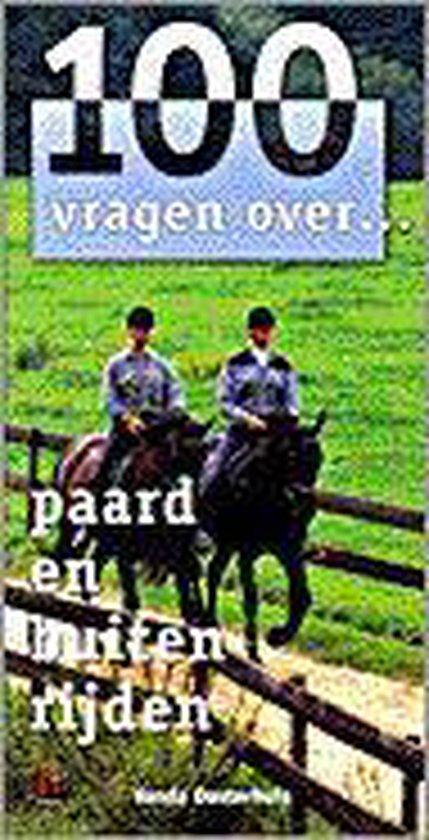 Paard En Buiten Rijden - Vanda Oosterhuis  