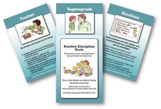 Positive Discipline Tools - 52 kaarten om je vaardigheden als opvoeder te vergroten, handig bij het opvoeden en in de klas