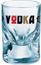 Durobor Wodka Glas - 0.05 l - 6 stuks