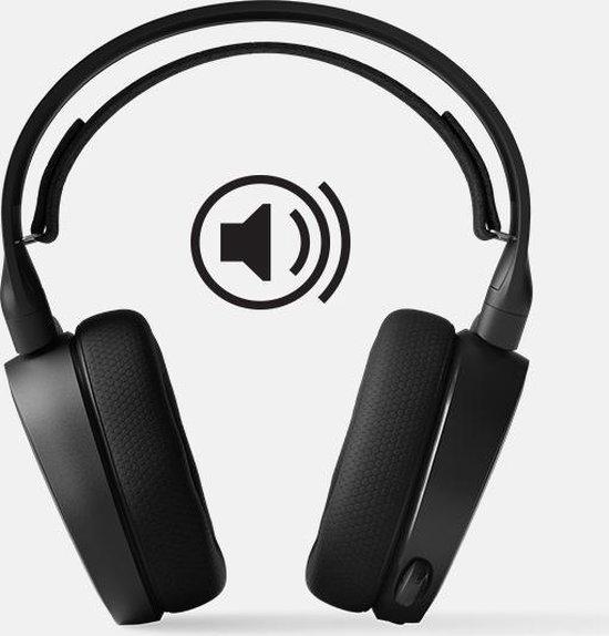 SteelSeries Arctis 3 -  2019 Edition - Gaming Headset - Zwart - PC