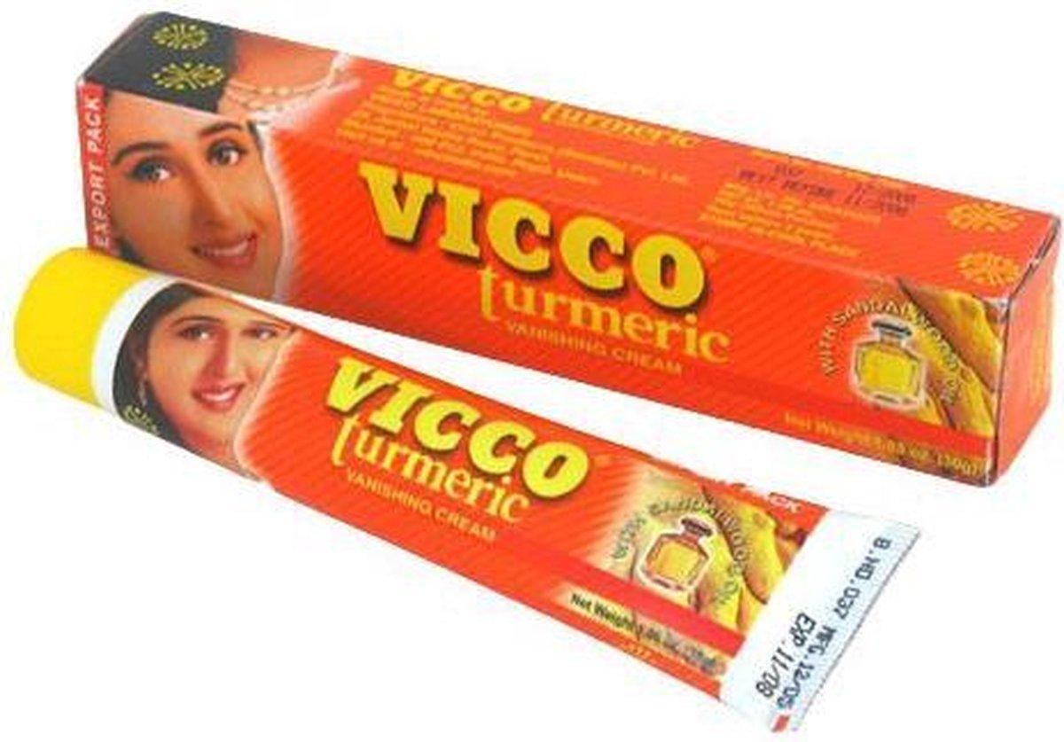 Vicco turmeric gezichtscreme met kurkuma - 30g - Vicco