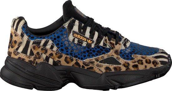bol.com | Adidas Dames Sneakers Falcon W - Blauw - Maat 36⅔