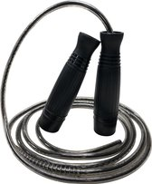 Afbeelding van Sportspringtouw - Kogellagers Speed Rope - Lengte 3 Meter - Zwart