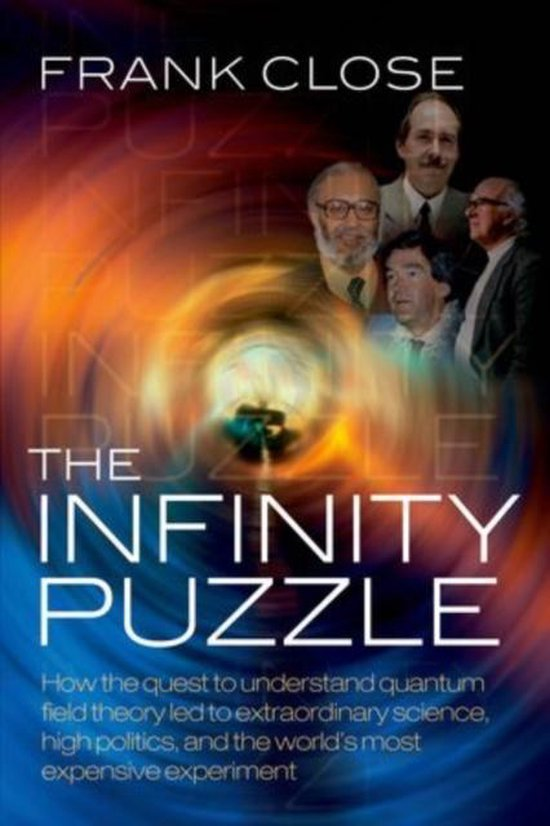 Boek cover The Infinity Puzzle van Frank Close (Paperback)