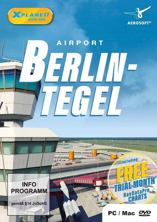 GAME Airport Berlin-Tegel XP Video game downloadable content (DLC) PC XPlane 11 Duits, Engels