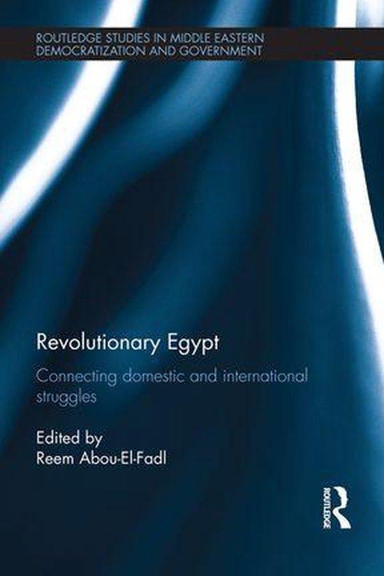 Boek cover Revolutionary Egypt van Reem Abou-El-Fadl (Onbekend)