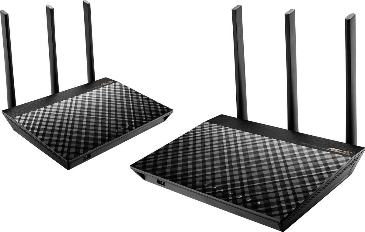 ASUS RT-AC67U - Multiroom WiFi Systeem - Duo Pack