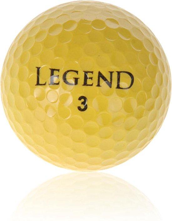 Spalding tour edition gele golfballen