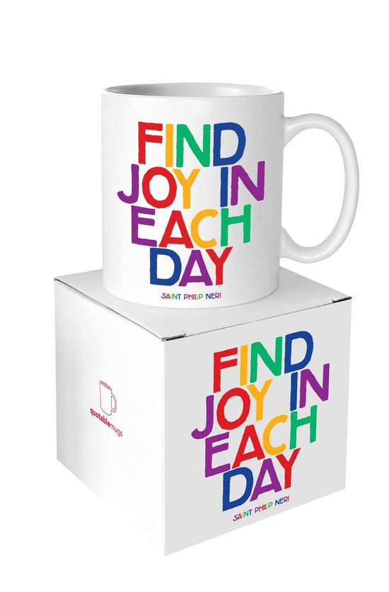 Quotable Mug Find Joy In Each Day