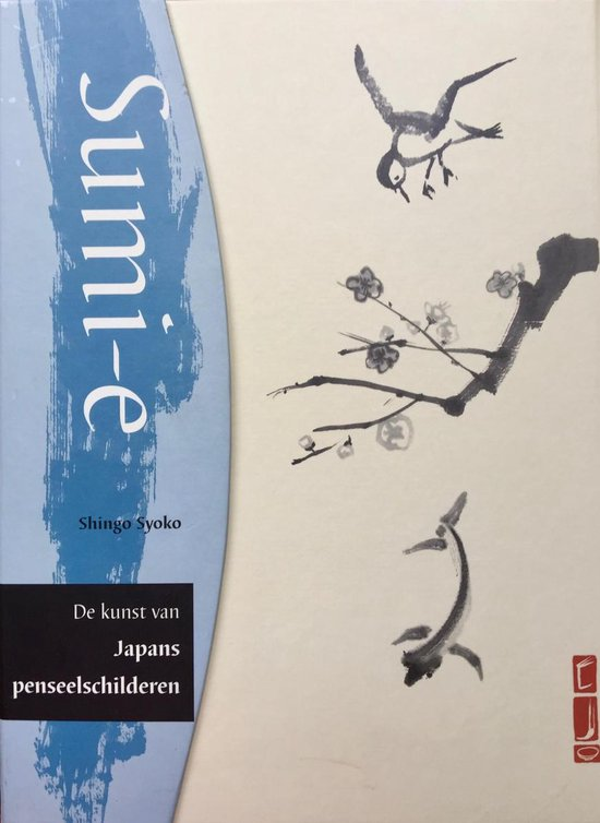 Sumi e japans penseelschilderkit - S. Syoko |