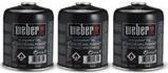 Weber® Driepak gasbusjes